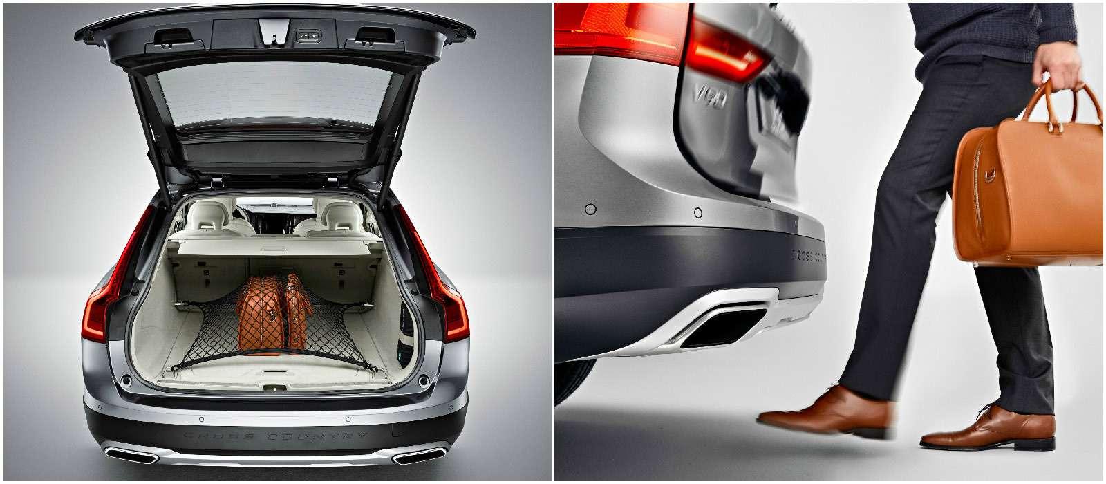 Новый Volvo V90 Cross Country: нечемодан!— фото 654908