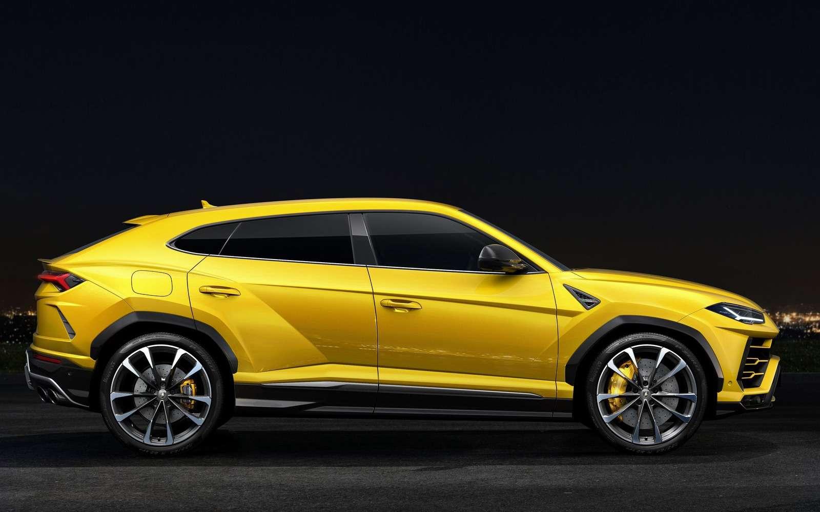 Lamborghini Urus: самый крутой кроссовер вмире— фото 823182