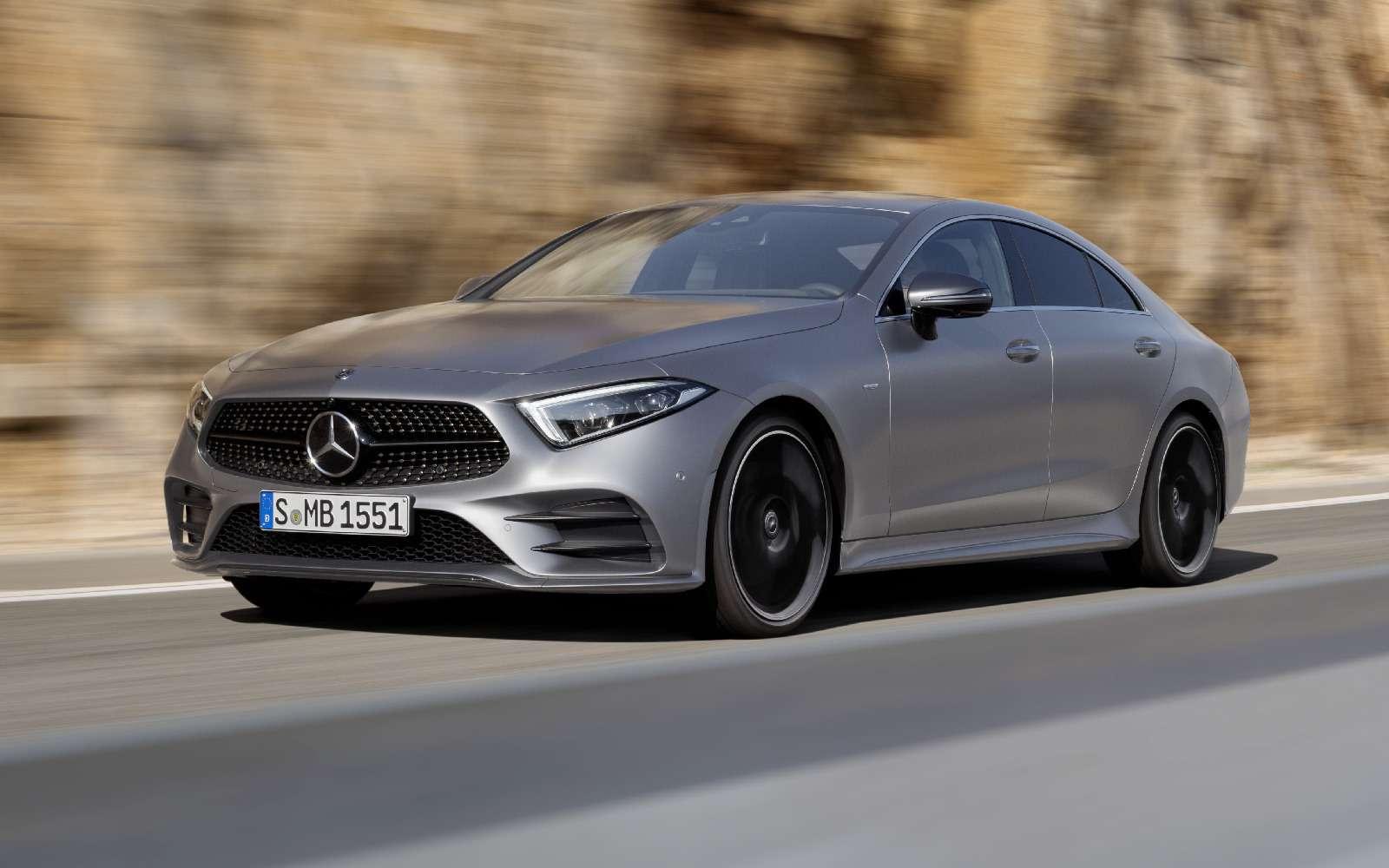 Новый Mercedes-Benz CLS: еще больше чувственности— фото 822040