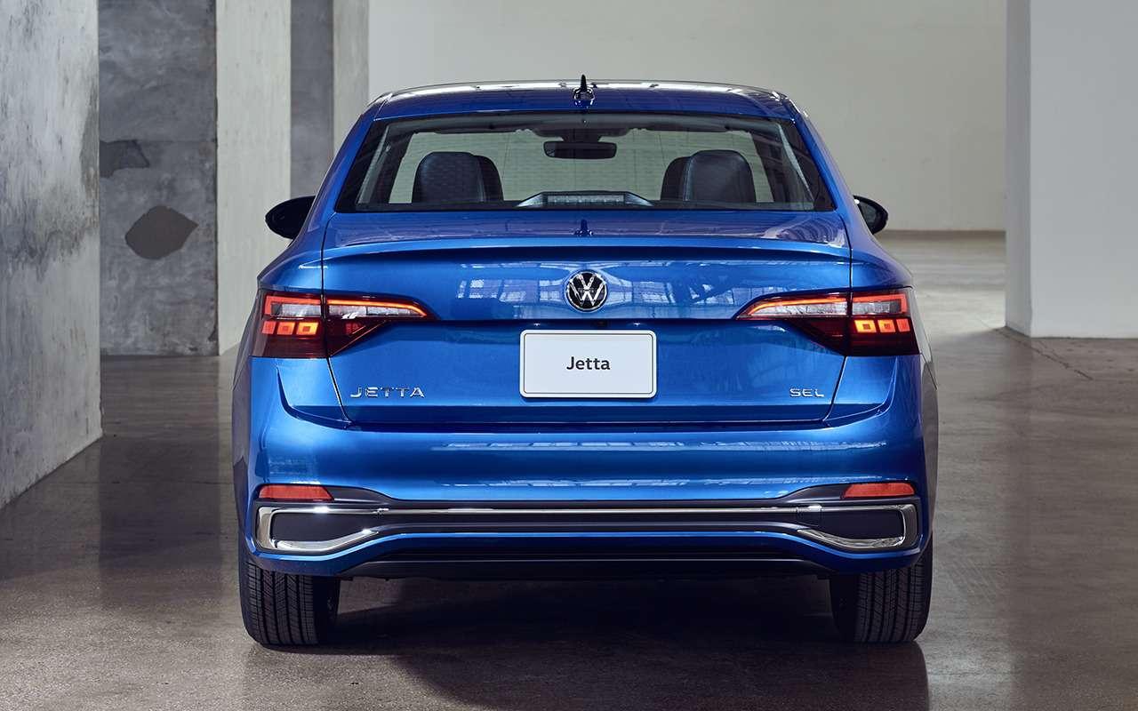 VWпредставил посвежевшую Джетту— фото 1272318