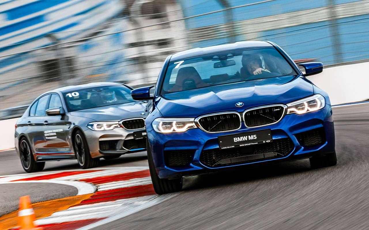 Новый BMW M5— теперь сполным приводом!— фото 876074