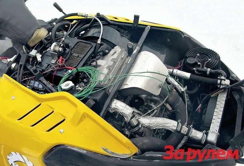 Tungus: мотор