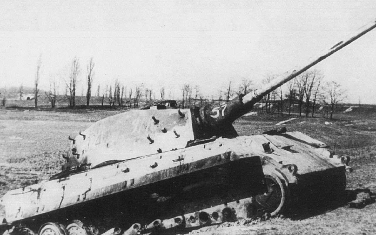 Последнее танковое сражение великой войны: засады имаскировка— фото 1089038
