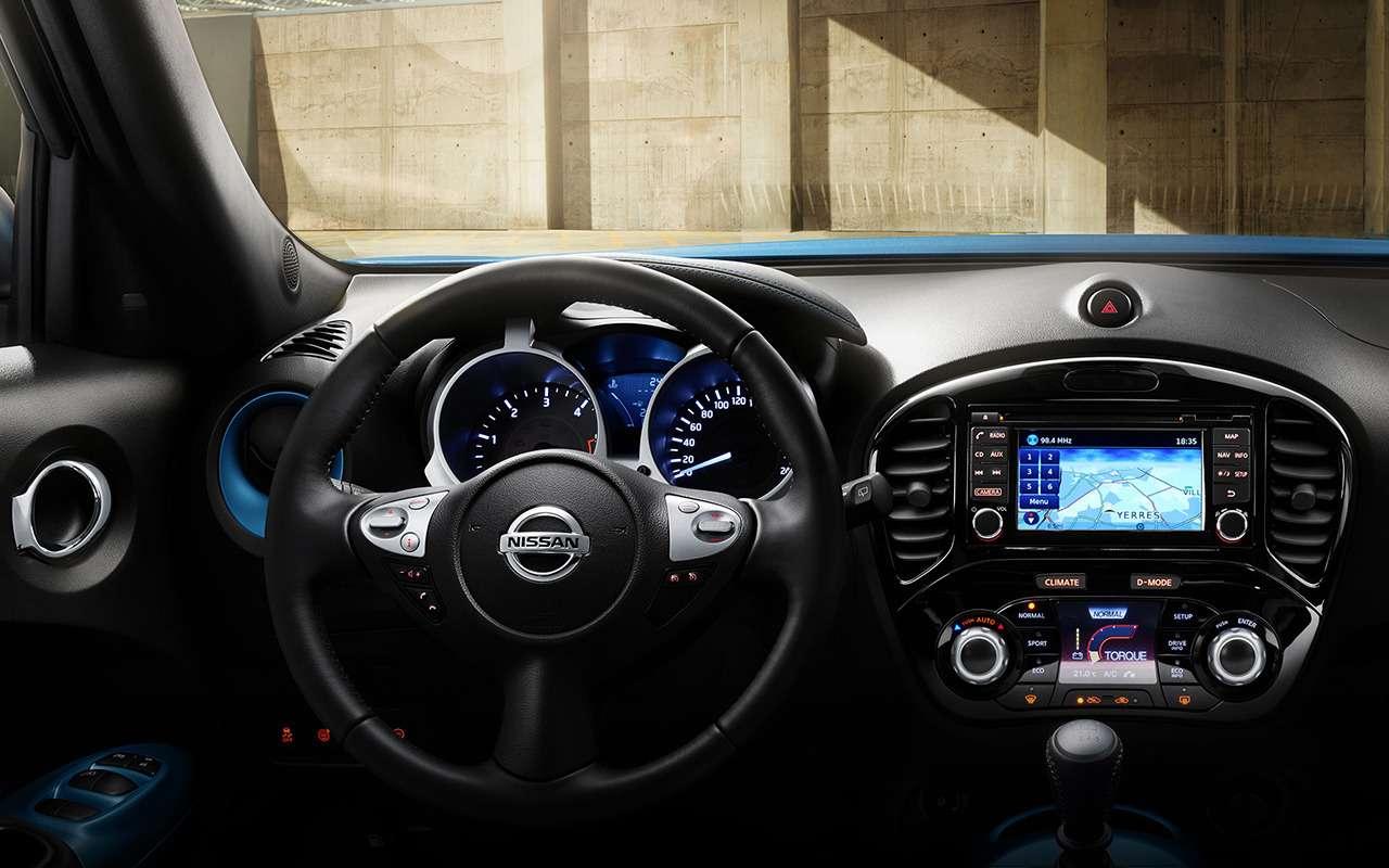Nissan Juke: новые цвета исветодиоды. Уже впродаже— фото 879169
