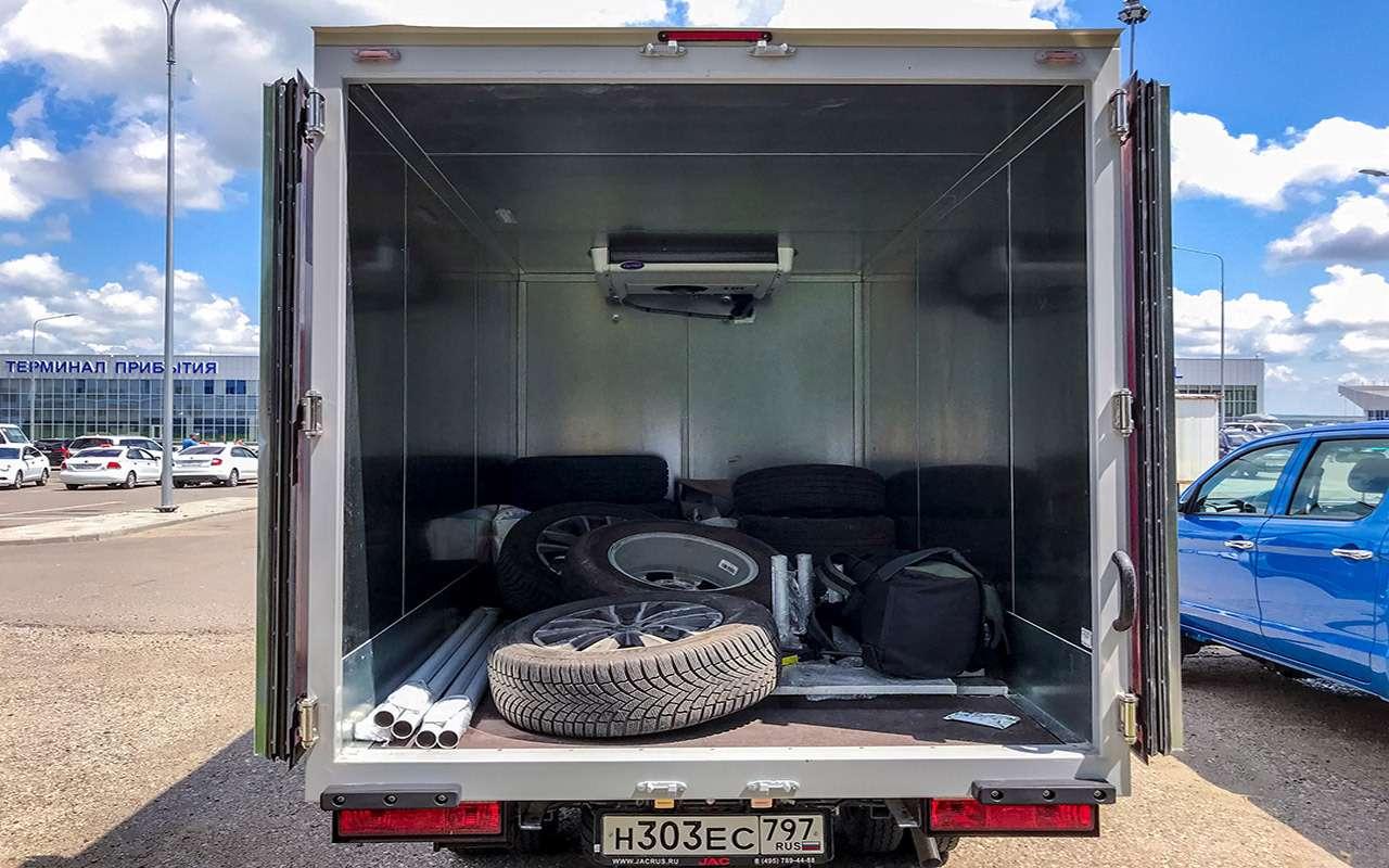 Новый китайский грузовик: сравнили его снашим Соболем— фото 1273579