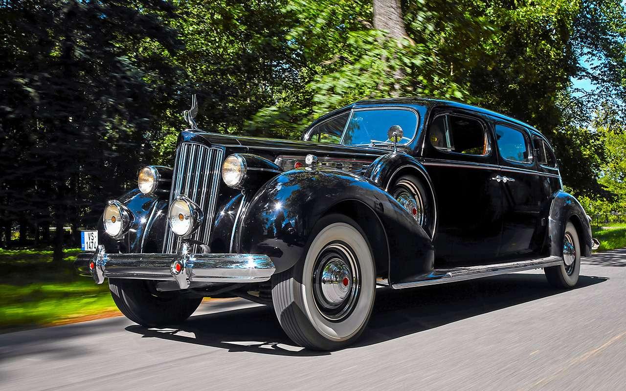 Packard Super Eight 1939: связей сэтим иностранцем можно небояться!— фото 893696