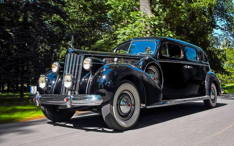 Packard Super Eight 1939 — тест-драйв ретромобиля — журнал