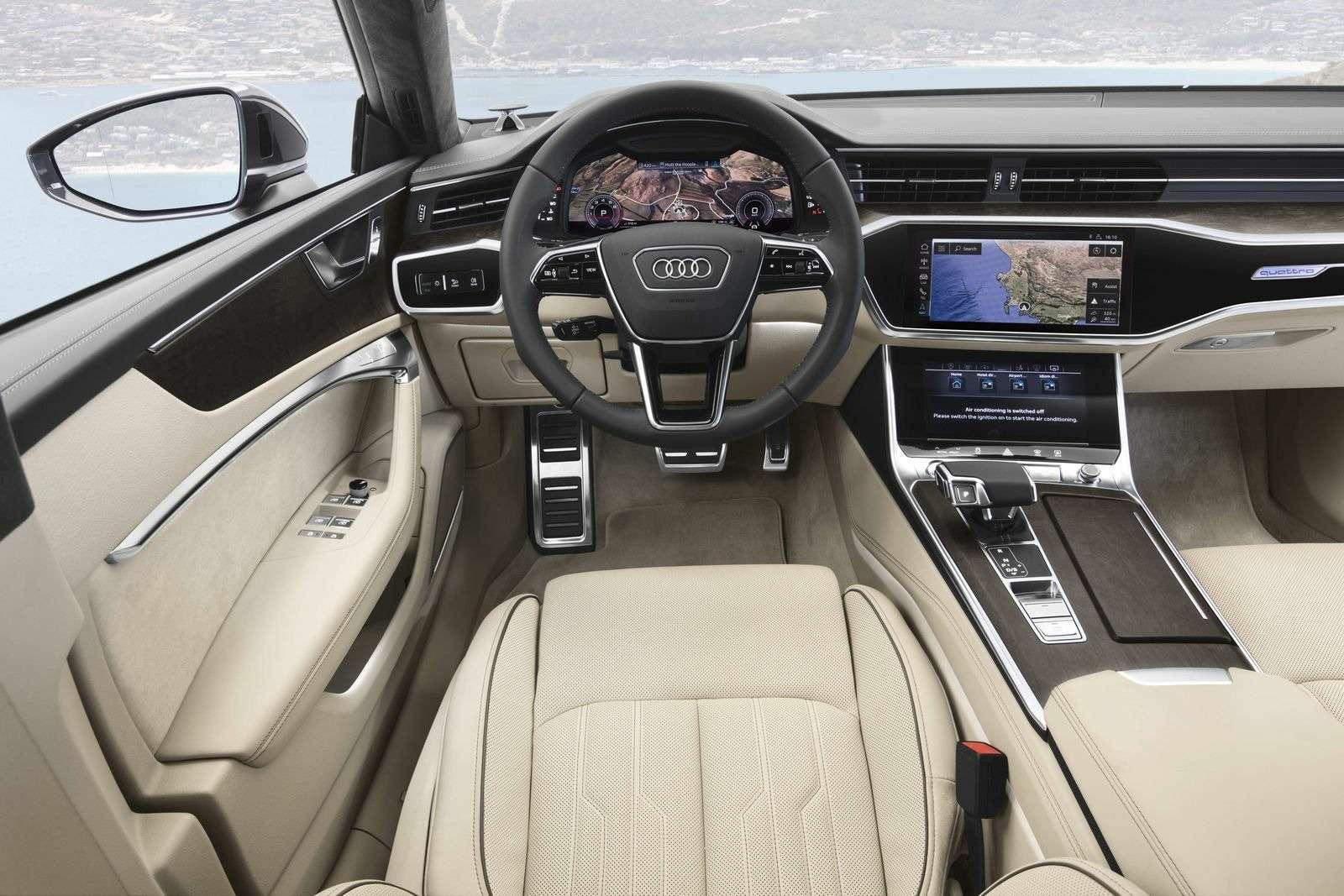 Новый Audi A7Sportback вРоссии: от4320000 рублей— фото 876033