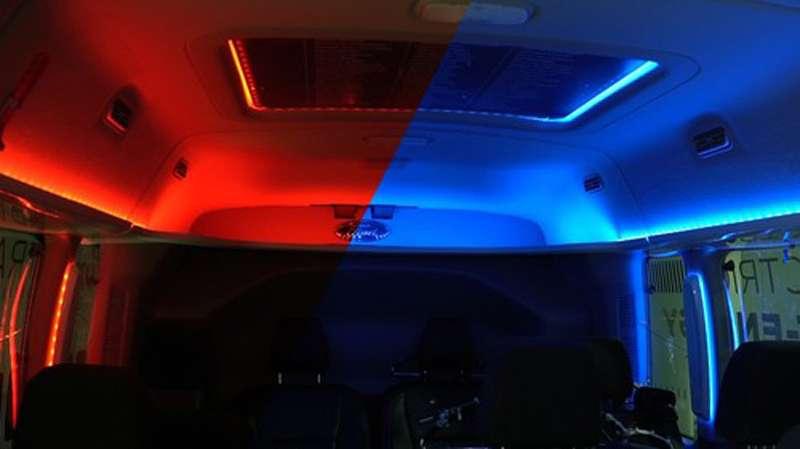 Какэкономить наотоплении салона? Освещать его красным светом!