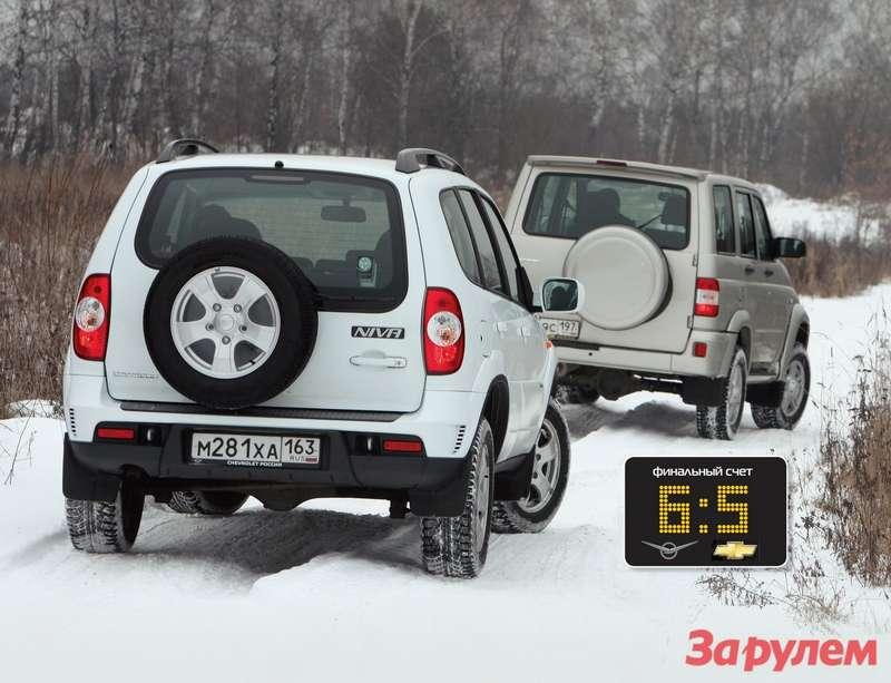 UAZPatriot Sport иChevrolet Niva