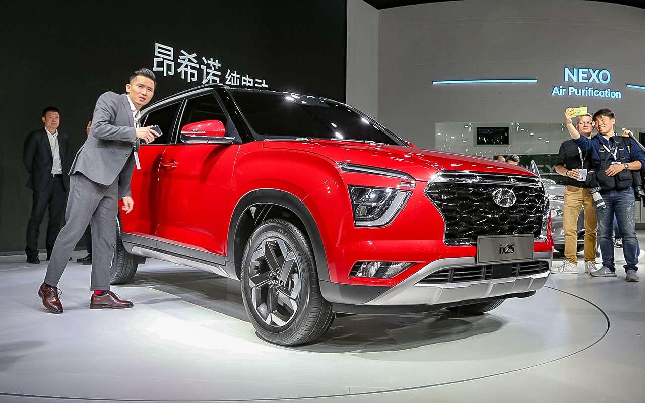 Новая Hyundai Creta— первые подробности— фото 966888
