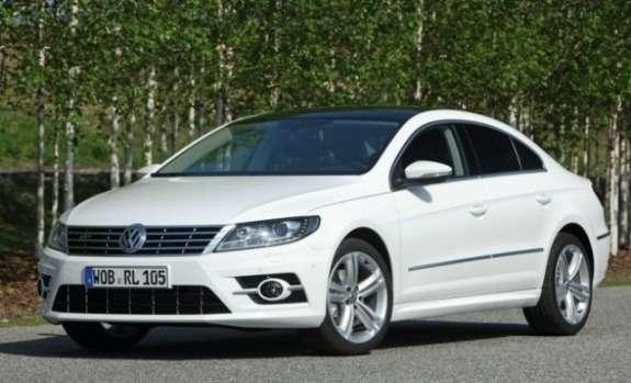 Volkswagen Passat CCR-Line side-front view