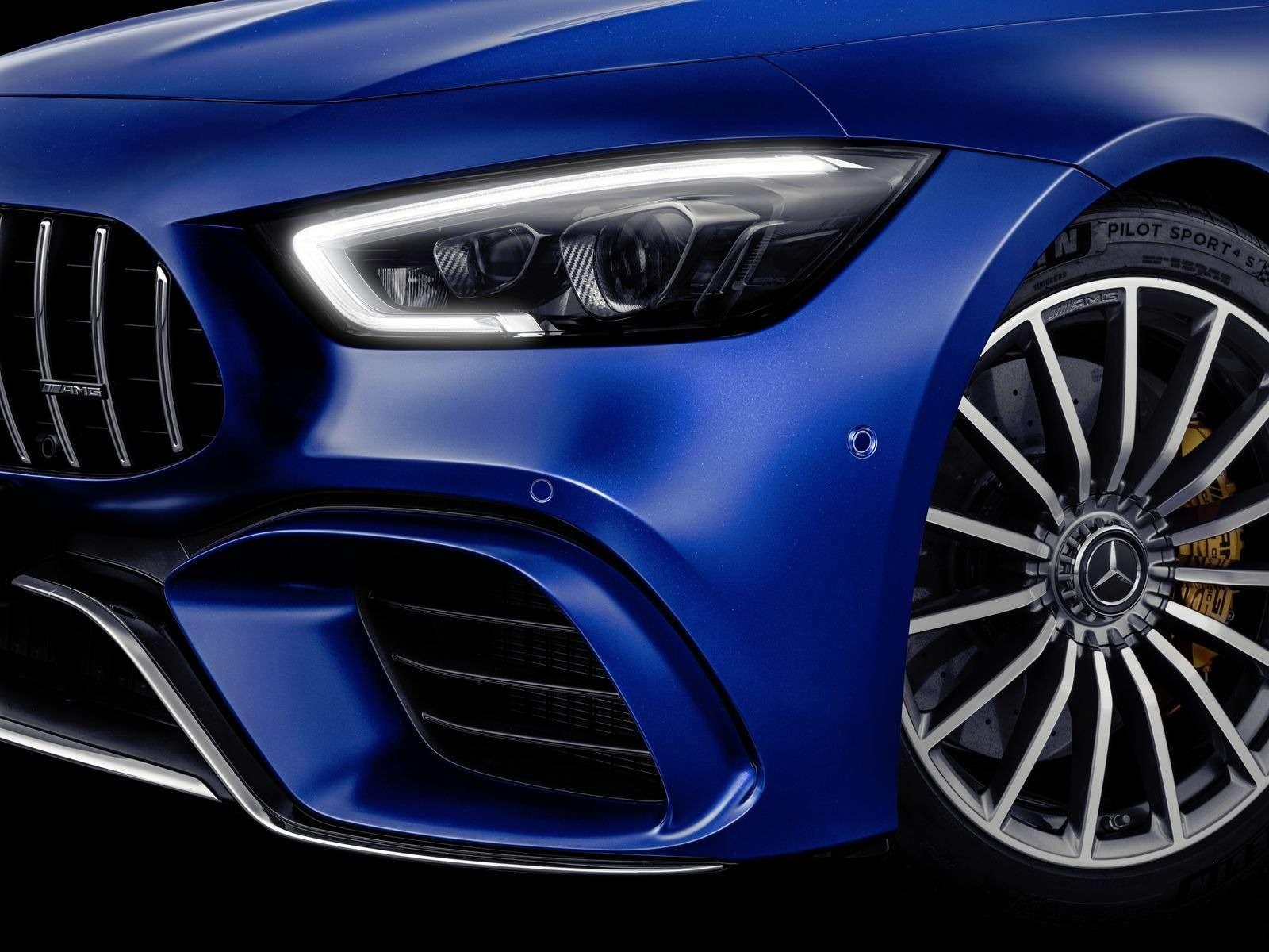 Подмена! Пятидверный Mercedes-AMG GTполучил «тележку» Е-класса— фото 851520