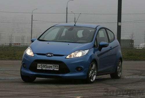 Тест Ford Fiesta Sport: Кинетический антидепрессант (ВИДЕО)— фото 5932