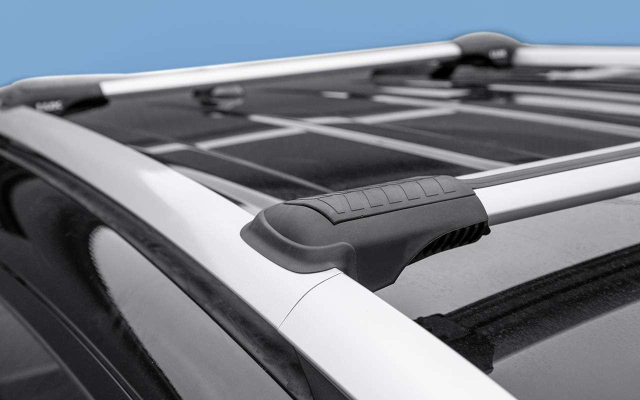 Багажник накрышу длякроссовера: инструкция повыбору— фото 1260452