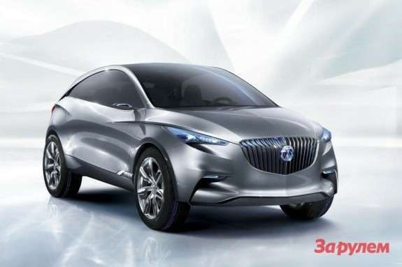 Buick Envision side-front view