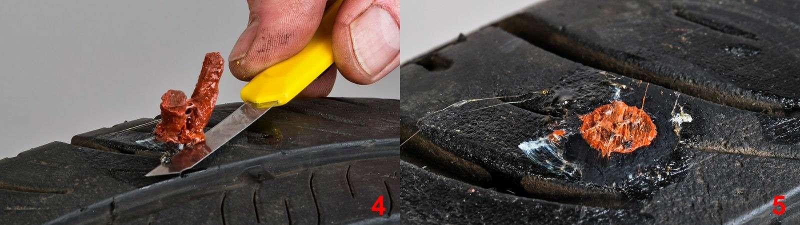 Ремонтируем проколотую шину—  тест 16ремкомплектов исоветы ЗР— фото 771865