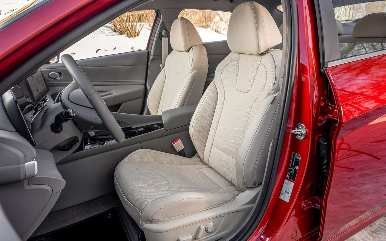 Новая Hyundai Elantra— тест российской глубинкой— фото 1247134