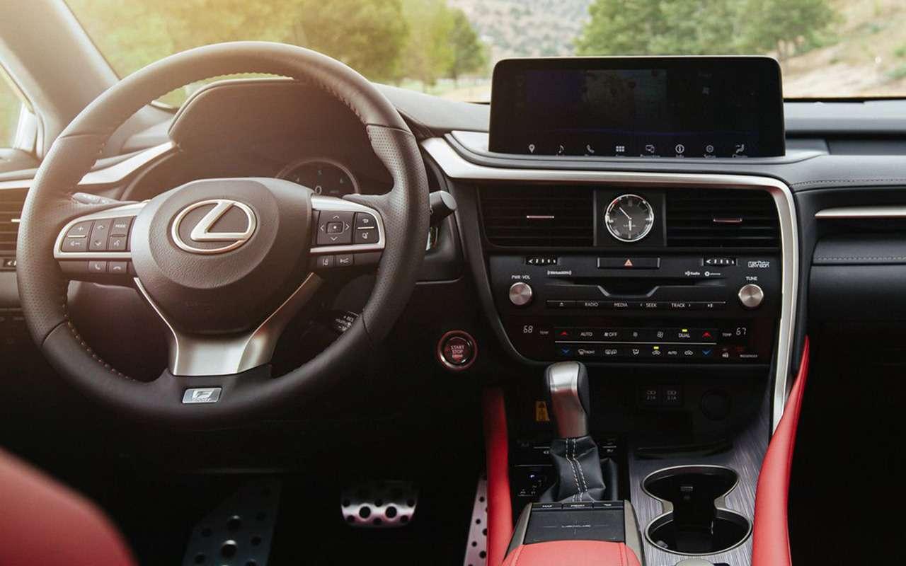 Обновленный Lexus RX: «подтяжка» лица— фото 977481