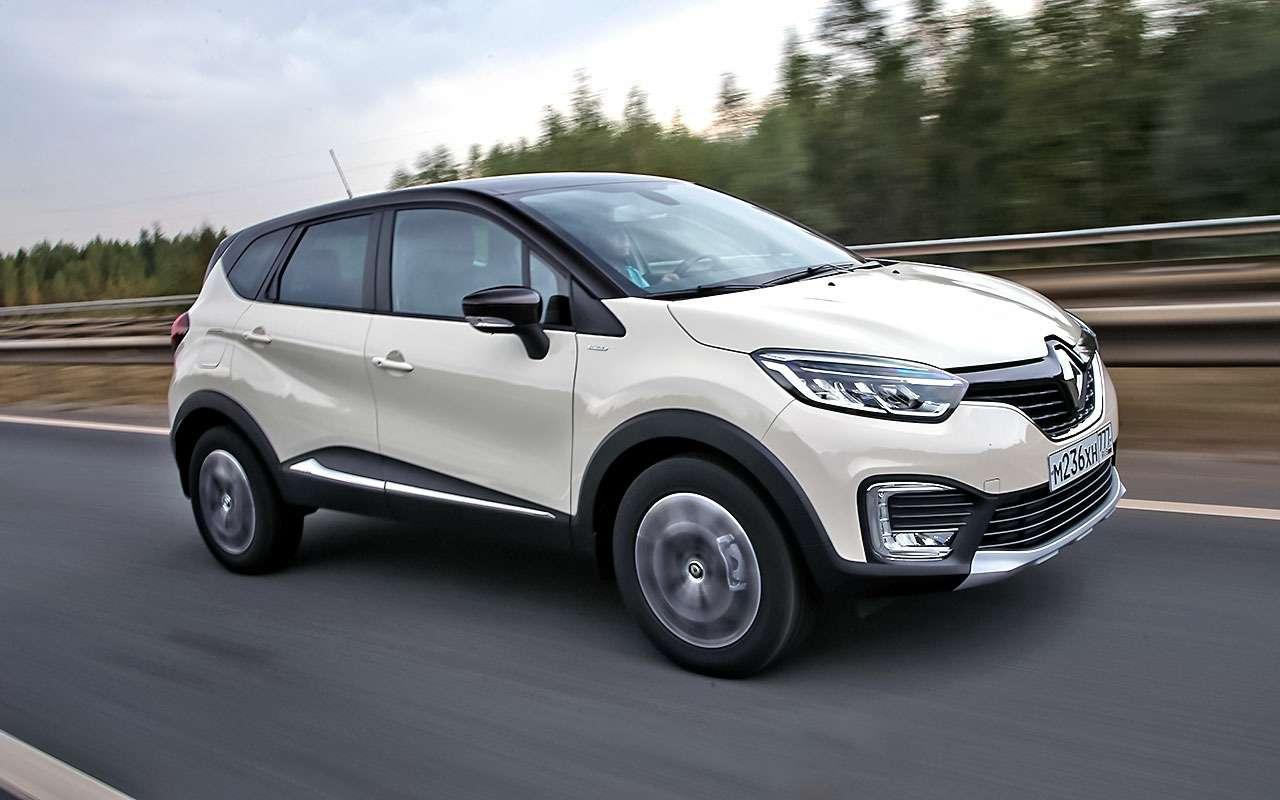 Renault Duster или Kaptur: выбираем авто длявас— фото 806566