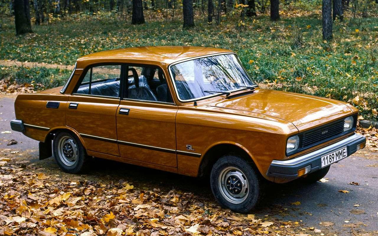 Машины нашего детства— ретротест Москвича-2140— фото 811249