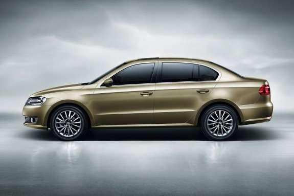 Volkswagen Lavida side view