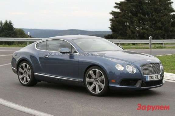 Bentley Continental GT Speed side-front view