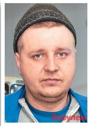 Роман Иванов- механик «ТемпАвто— Балашиха»