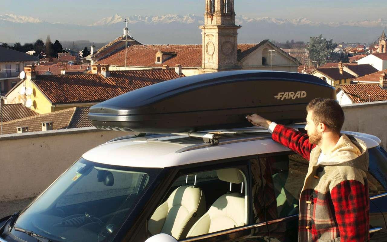 Автобокс накрышу— можно жевзять варенду! Изучаем все варианты— фото 1094345