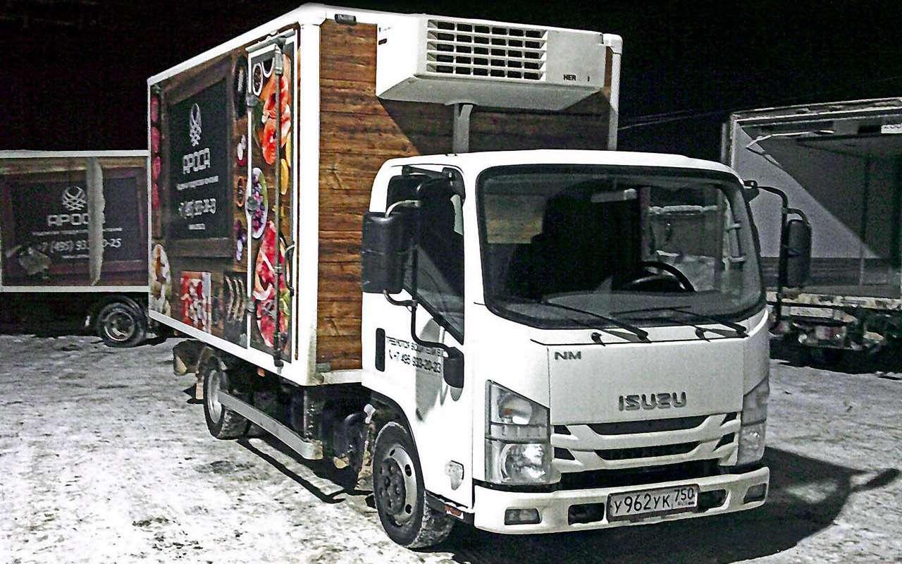 Развозной грузовичок Isuzu— там, куда ГАЗель непустят— фото 1263245