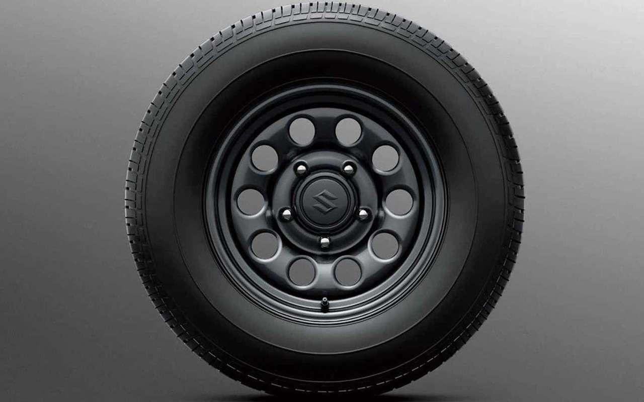 Бюджетный Suzuki Jimny Lite— урезан досамого необходимого— фото 1256641