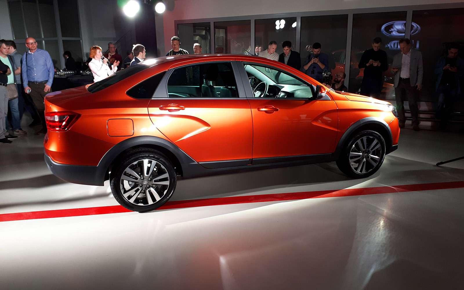 Представлена новая модель Lada. Иэто снова Cross— фото 863341