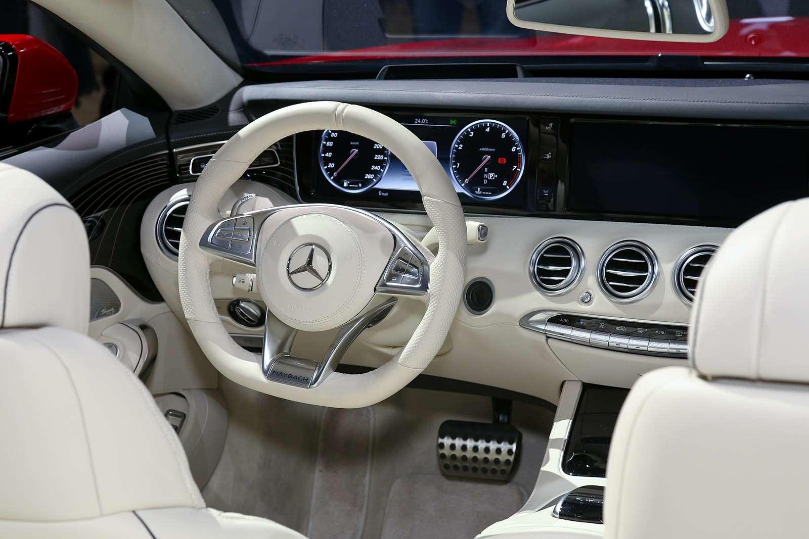 Царская особа: Mercedes-Maybach S650 Cabriolet раскрывает тайны— фото 665259