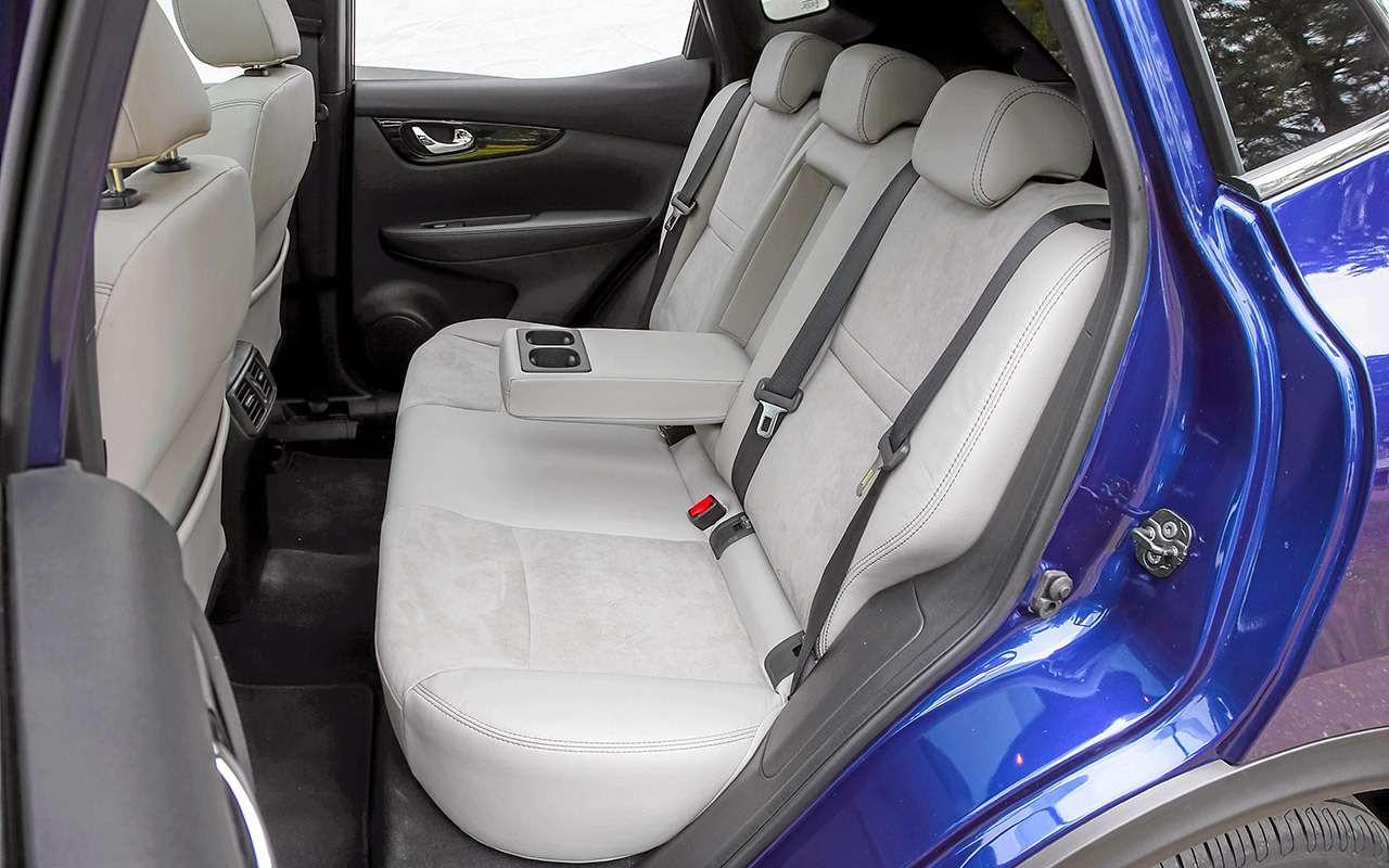 Новый Subaru XVпротив Nissan Qashqai иMitsubishi ASX— большой тест ЗР— фото 825184
