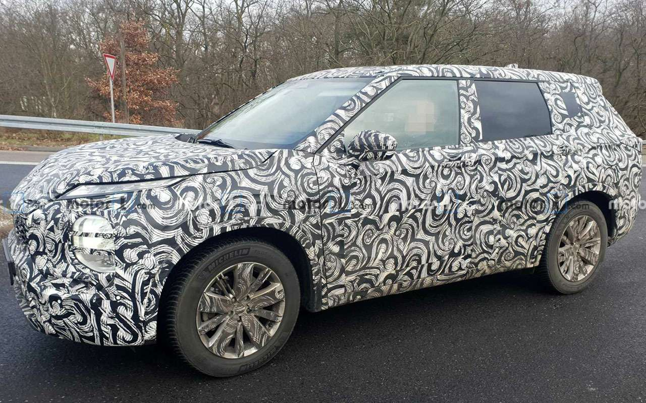 Новый Mitsubishi Outlander: его сделали похожим наNissan Juke— фото 1069100