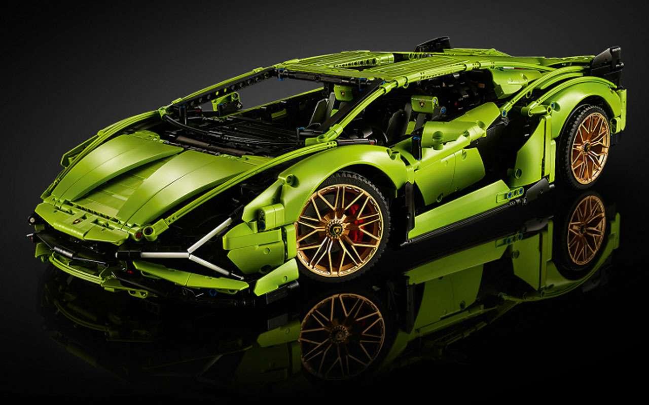 7 потрясающих машин LEGO— отличный подарок— фото 1208305