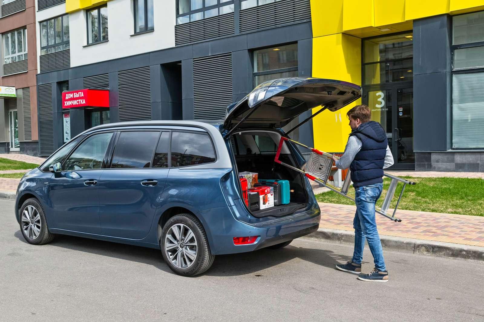 Изящество или практичность? Citroen Grand C4Picasso против VWCaddy Maxi— фото 599137