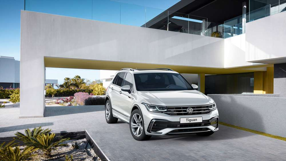 Обновленный Volkswagen Tiguan: цены икомплектации— фото 1208338