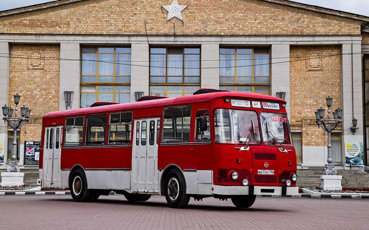 Автобус ЛиАЗ-677— ретротест под«звон бутылок»— фото 793188
