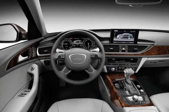 Audi A6L e-tron Concept inside