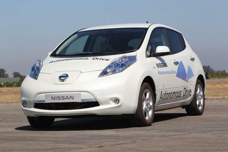 nocopyright Nissan Autonomous Drive test LEAF