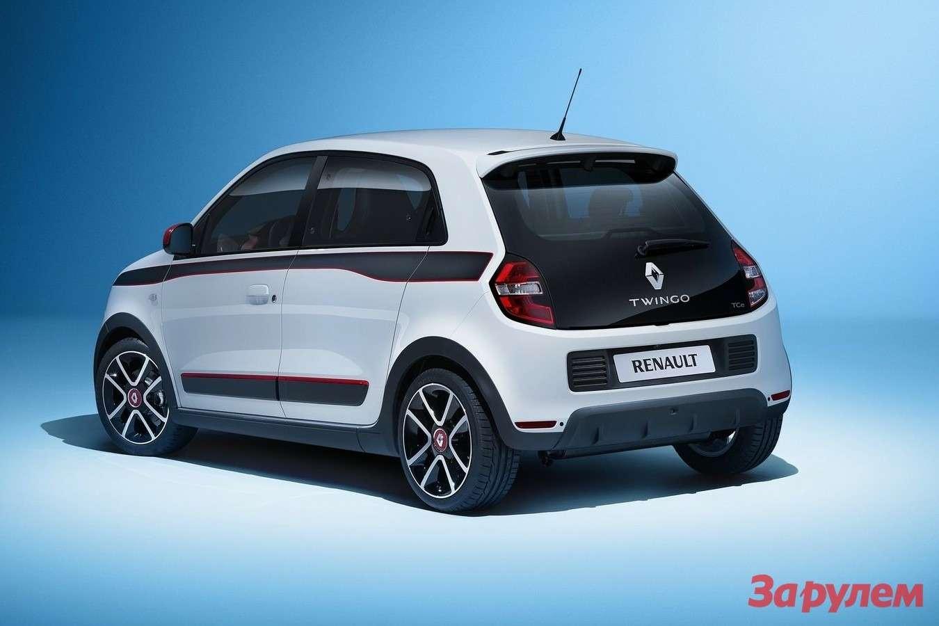 Новый Renault Twingo