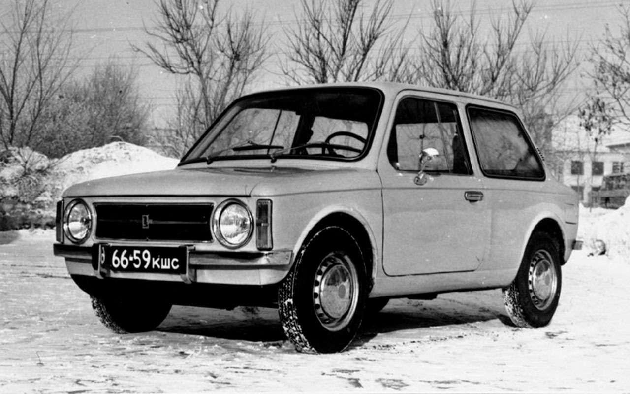 Неизвестные модели ВАЗа: оних никто неузнал— фото 1079935