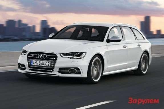 Audi S6Avant side-front view