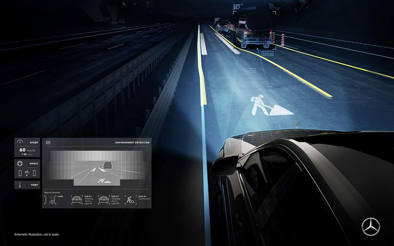 «Ярисую наасфальте»: Mercedes-Maybach представил уникальные фары— фото 851504