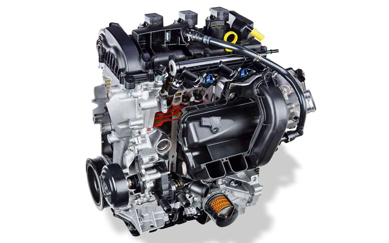Обновленный Ford EcoSport: три цилиндра, автомат иполный привод— фото 880332