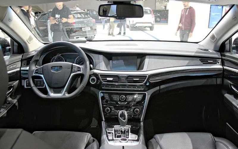 Передняя панель Geely Emgrand GT