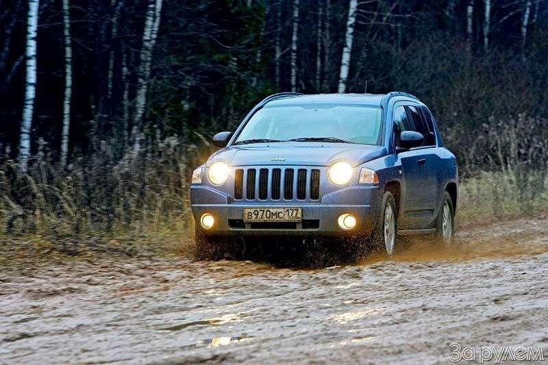 Тест Jeep Compass, Kia Sportage. Смешать, ноне взбалтывать— фото 70564