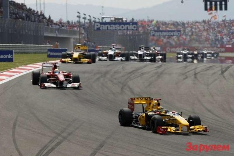 Команды Формулы-1 заработали 658 миллионов долларов засезон 2010(Фото: vitalypetrov.ru)
