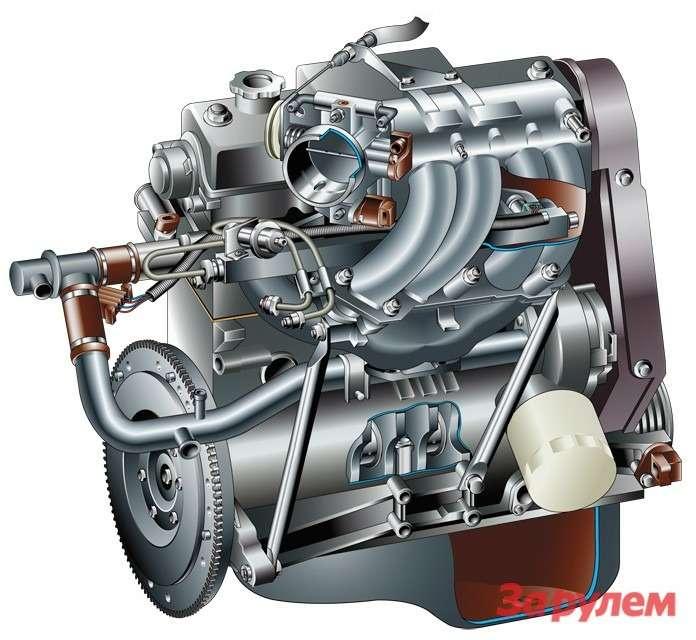 Двигатель (затраты наремонт 1200 руб.)